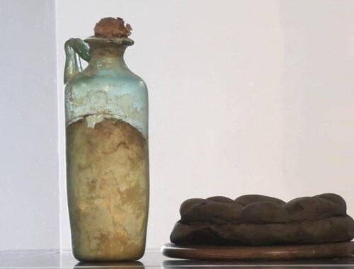 La più antica bottiglia di olio d'oliva del mondo