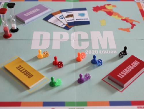 DPCM: il gioco da tavolo a tema Covid